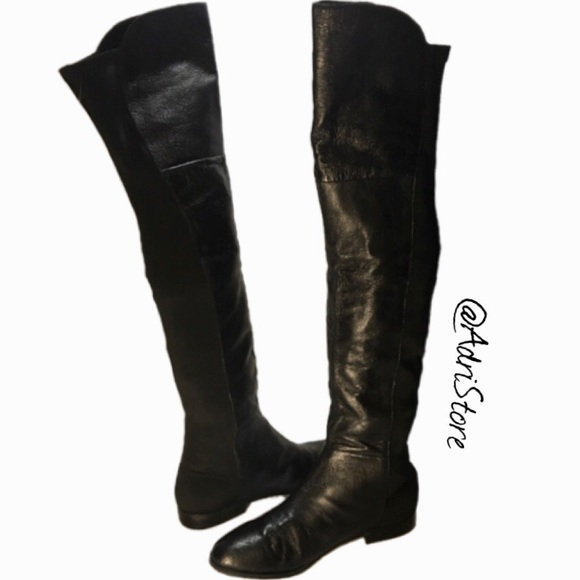 CHINESE LAUNDRY NWB Women Riley Leather Boots 8.5 74562da9d6